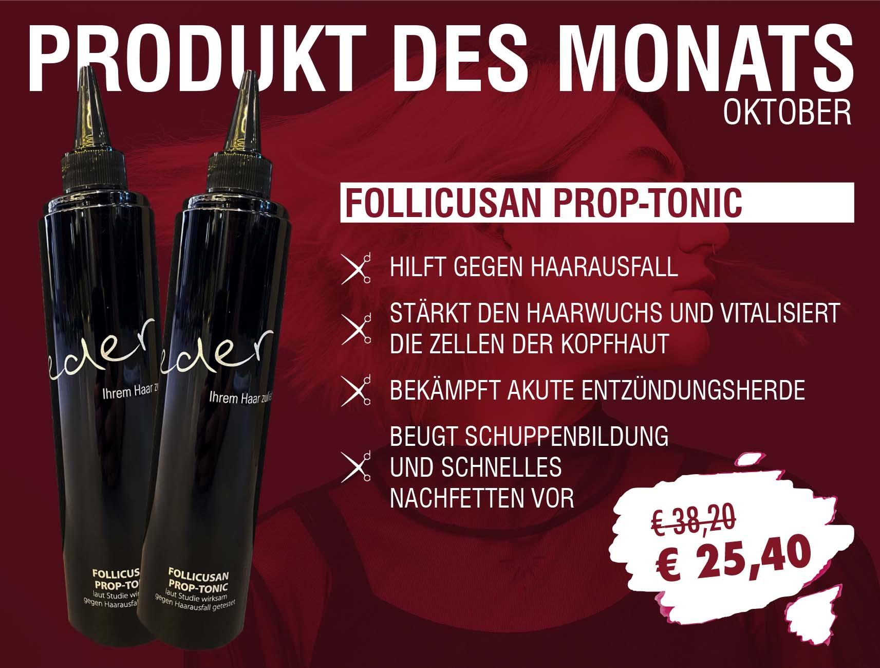 Friseur Eder - Produkt des Monats Oktober 2021